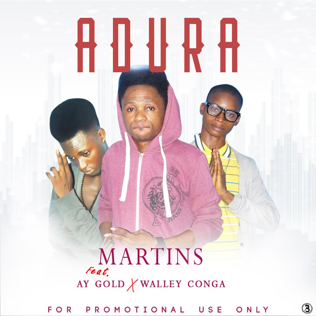 [Music] Martins Ft. Ay golden & Walley conga – Adura