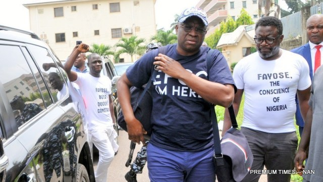 Absence Of EFCC Counsel Stops N6.9bn Fraud Trial Of Fayose