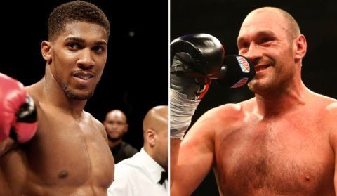 'Grow Up And Fight!' – Tyson Fury Challenges Anthony Joshua