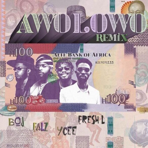 Music: BOJ – Awolowo (Remix) Ft. Falz, Ycee & Fresh L