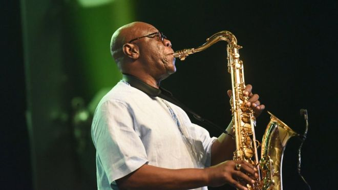 African Saxophone Legend, Manu Dibango Dies of Covid-19 in Paris